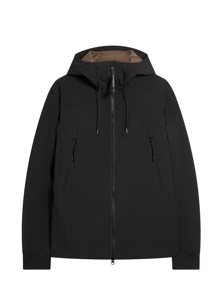 C.P. Shell Goggle Jacket in Black