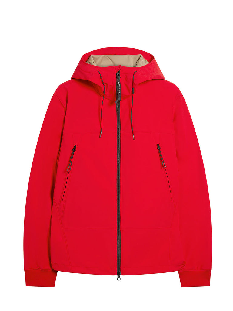 C.P. Shell Goggle Jacket in Poinciana