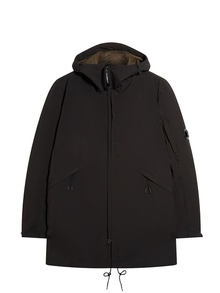 C.P. Shell Lens Parka in Black