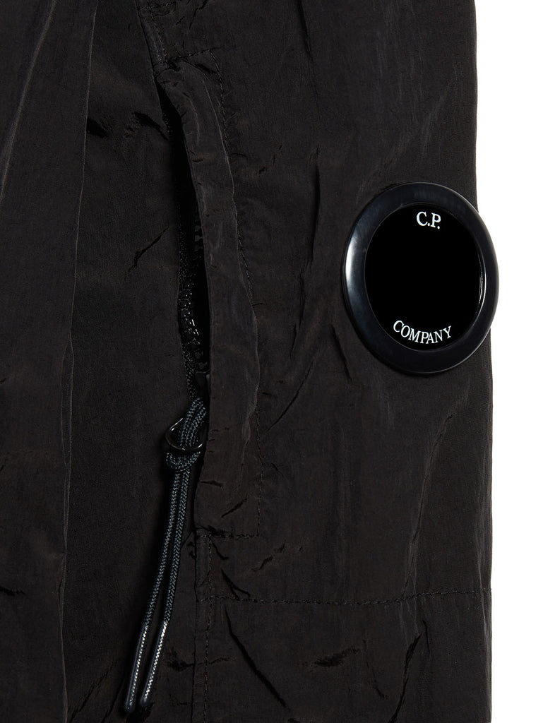 Chrome Lens Overshirt in Black
