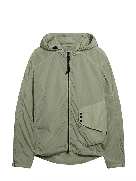 Chrome Goggle Overshirt in Kelp