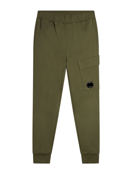 Diagonal Fleece Lens Pocket Sweatpant in Beech