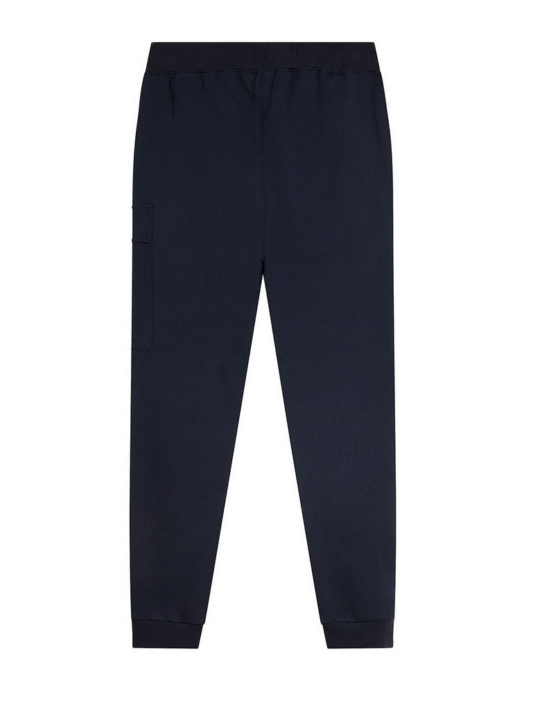 Diagonal Fleece Lens Pocket Sweatpant in Total Eclipse
