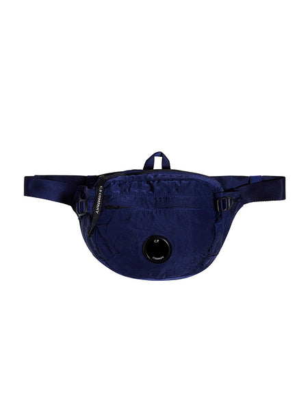 GD Nylon Sateen Lens Waist Bag in Estate Blue