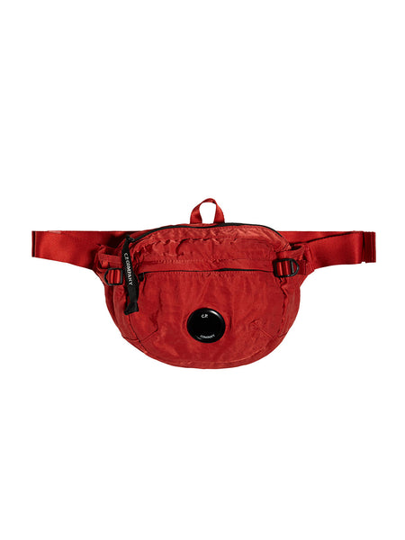 GD Nylon Sateen Lens Waist Bag in Pionciana