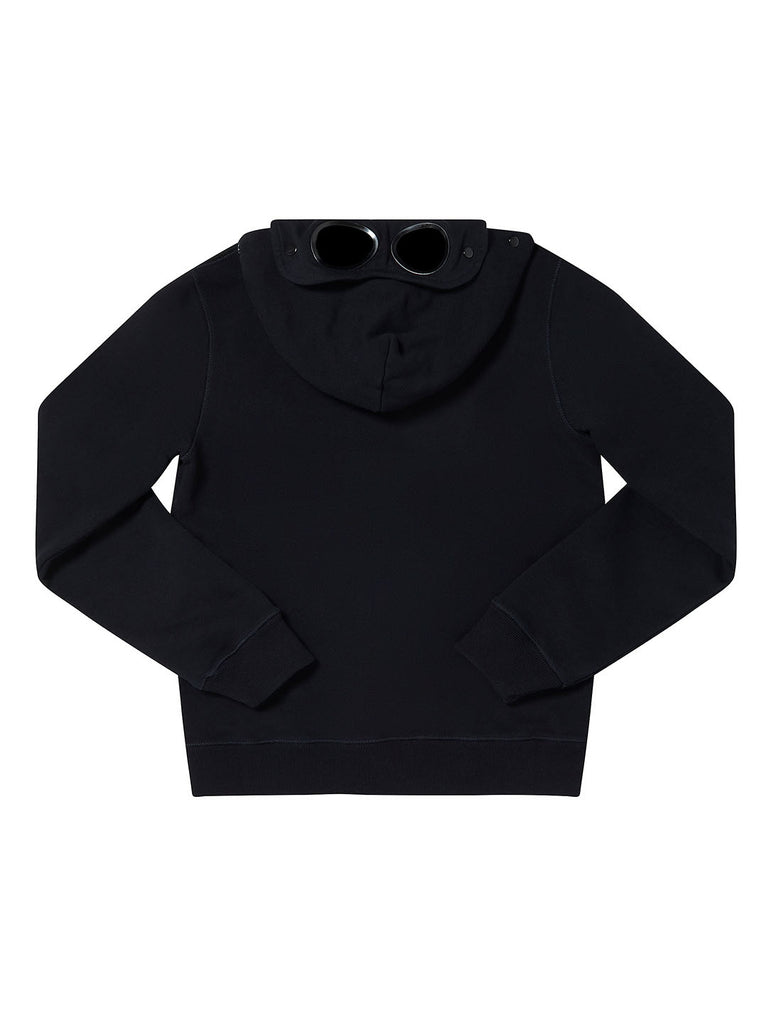 Undersixteen Google Hood Zip Sweatshirt in Total Eclipse