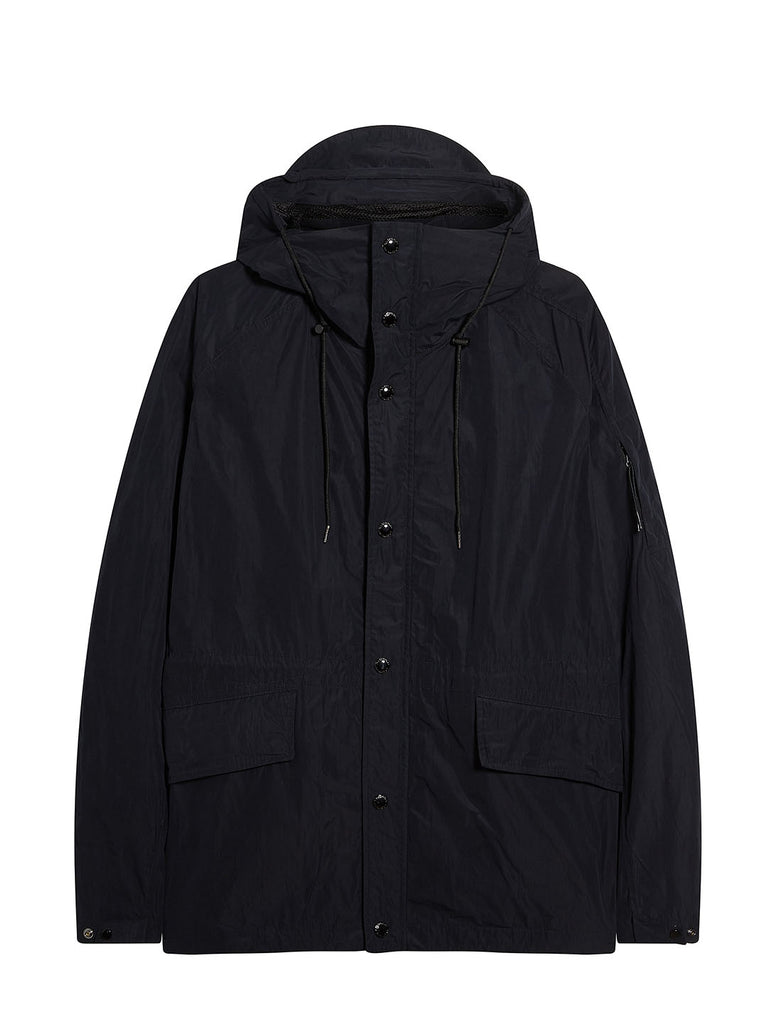 Memri Hooded Jacket in Total Eclipse
