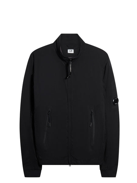 Pro Tek Full Zip Lens Jacket in Black