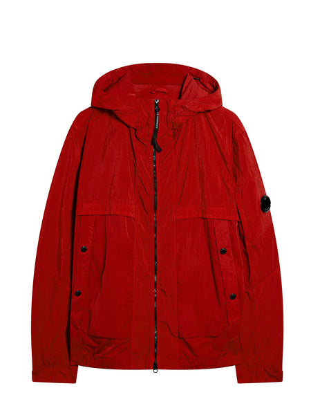 Quartz Lens Jacket in Poinciana