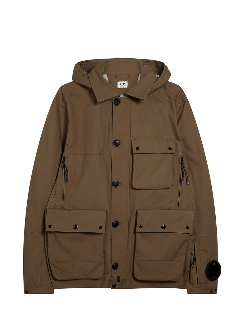 T-Mack Goggle Jacket in Beech