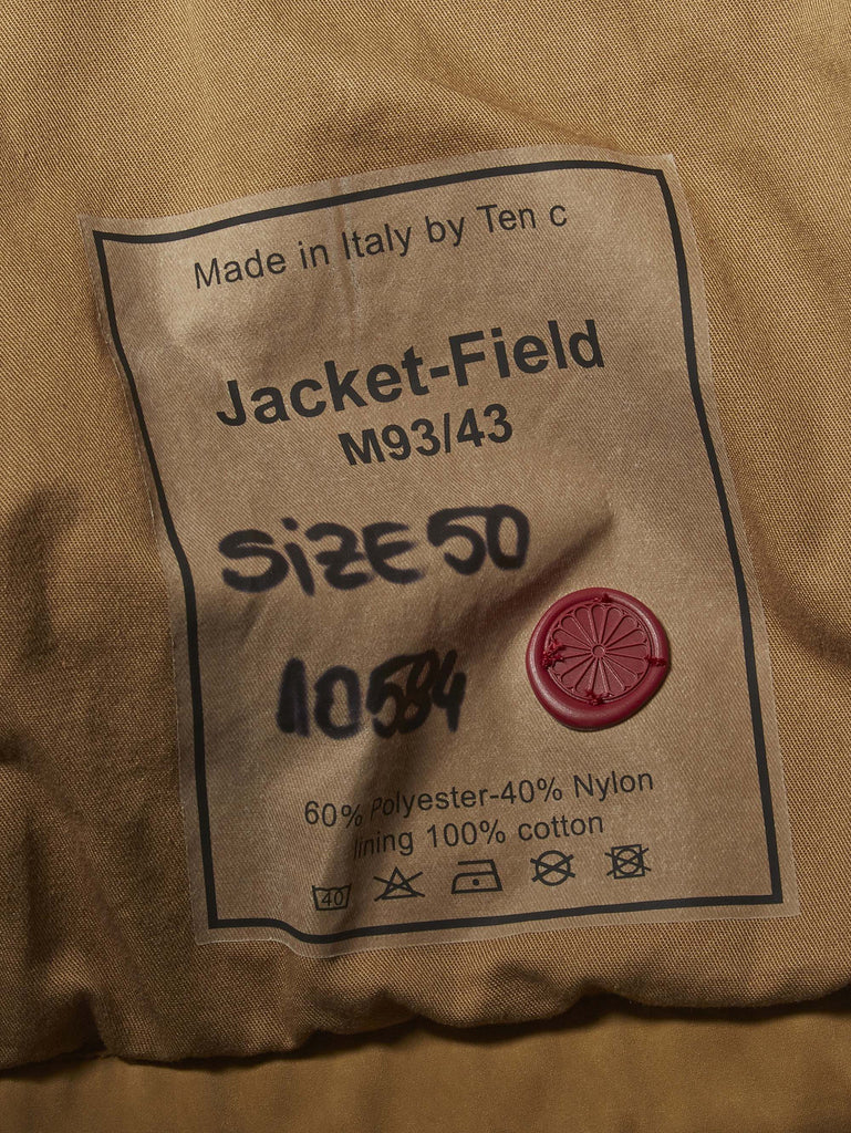 Ten C / Field Jacket in Sand