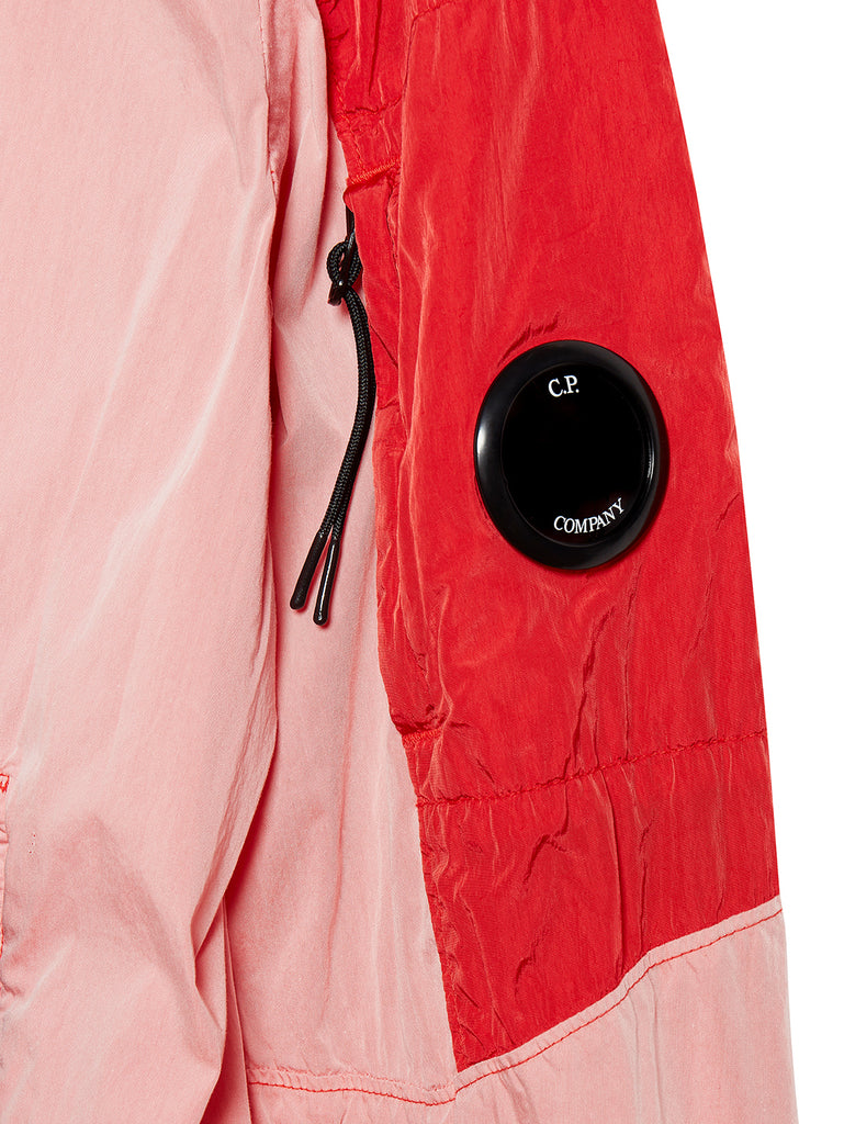 50 Fili Mixed Lens Jacket in Peach Pink