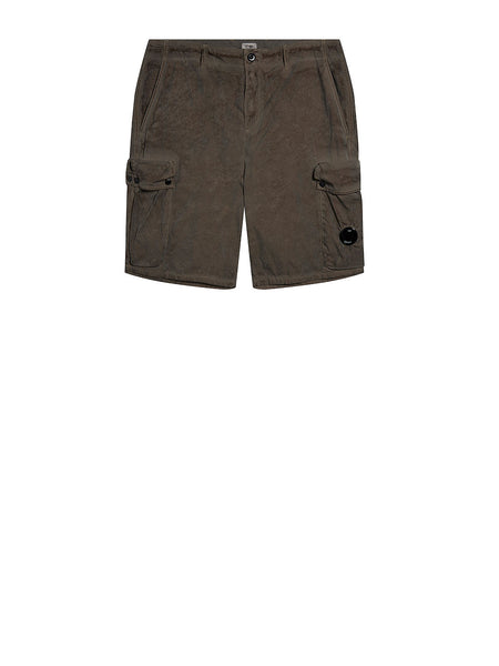 50 Fili Re-Colour Cargo Lens Shorts in Brindle Grey