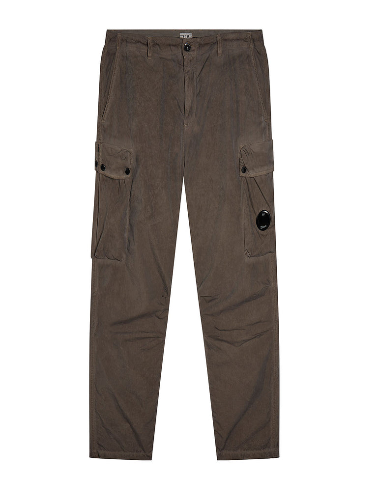 50 Fili Re-Colour Cargo Lens Trouser in Brindle Grey