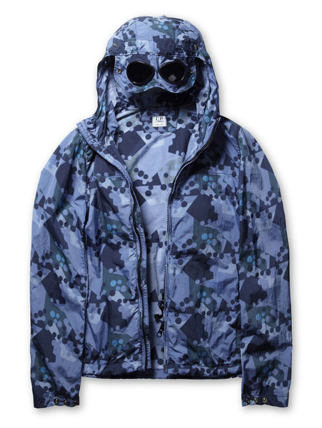 Undersixteen Camouflage Goggle Jacket in Blue