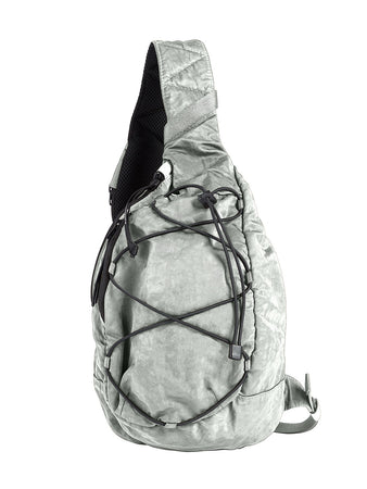 Nylon B. Crossbody Lens Backpack in Quiet Grey
