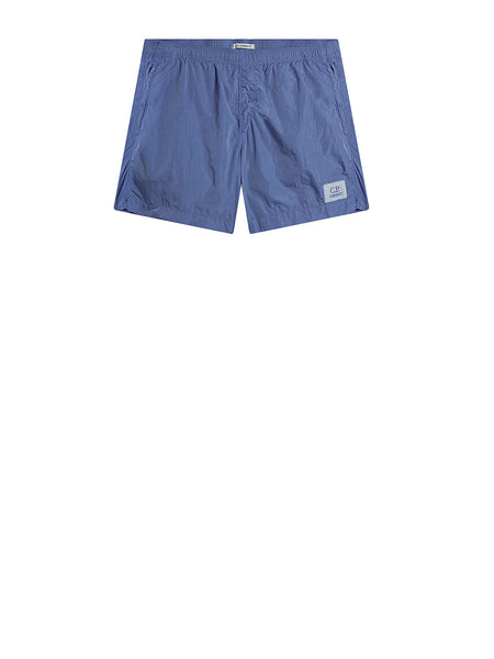 Chrome Swim Short in Dutch Blue