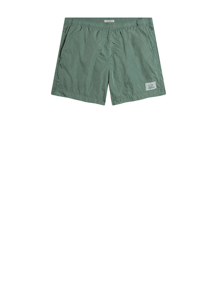 Chrome Swim Short in Green Bay