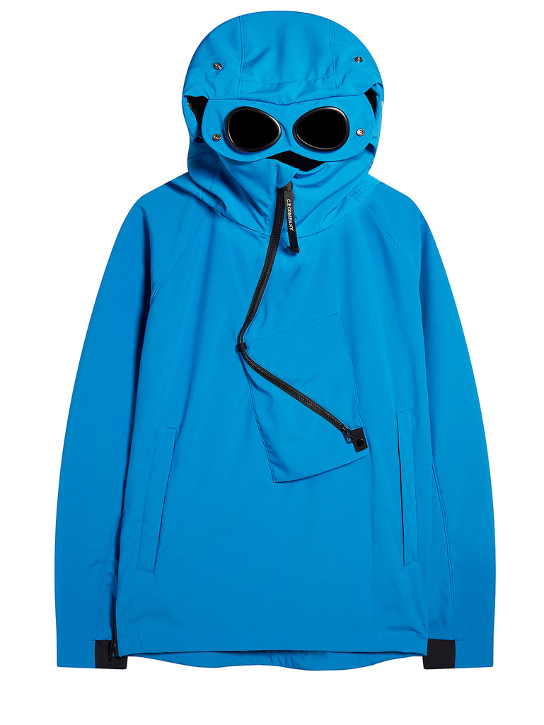 C.P. Shell Goggle Jacket in Imperial Blue