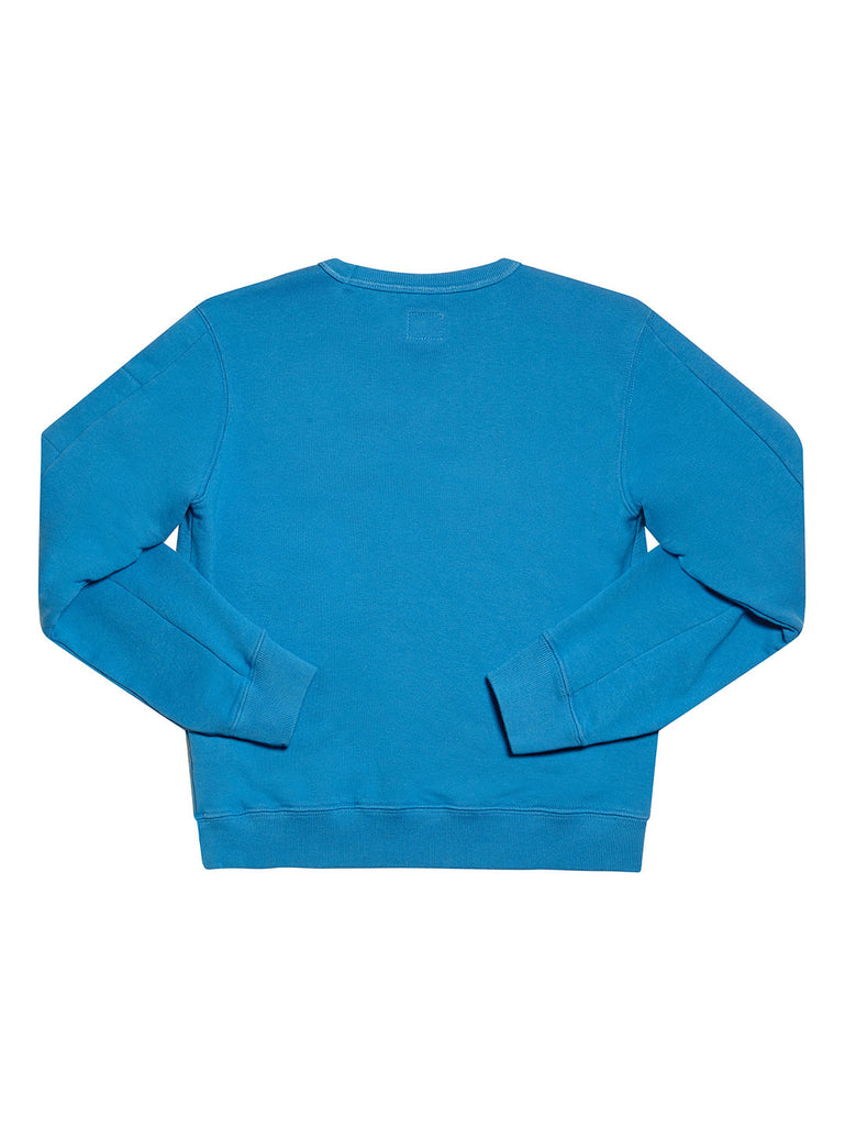 Undersixteen Basic Lens Sleeve Crewneck Sweatshirt in Imperial Blue