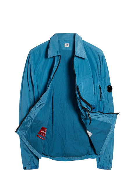 Chrome Overshirt in Bluejay