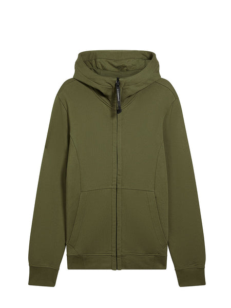 Diagonal Fleece Goggle Sweatshirt in Beech
