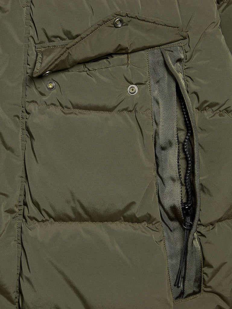 Nycra Medium Jacket In Dusty Olive