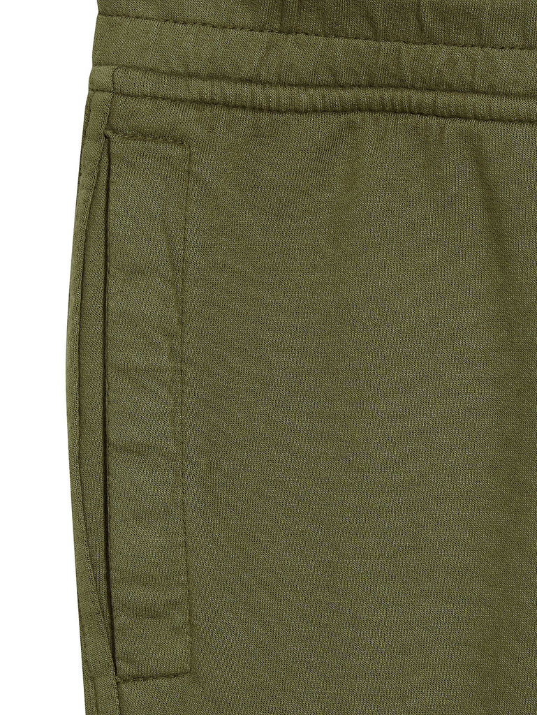 Garment Dyed Light Fleece Lens Pocket Sweatshort in Beech