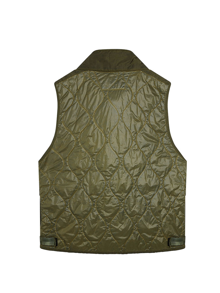 Migration Shading Utility Gilet in Dusty Olive