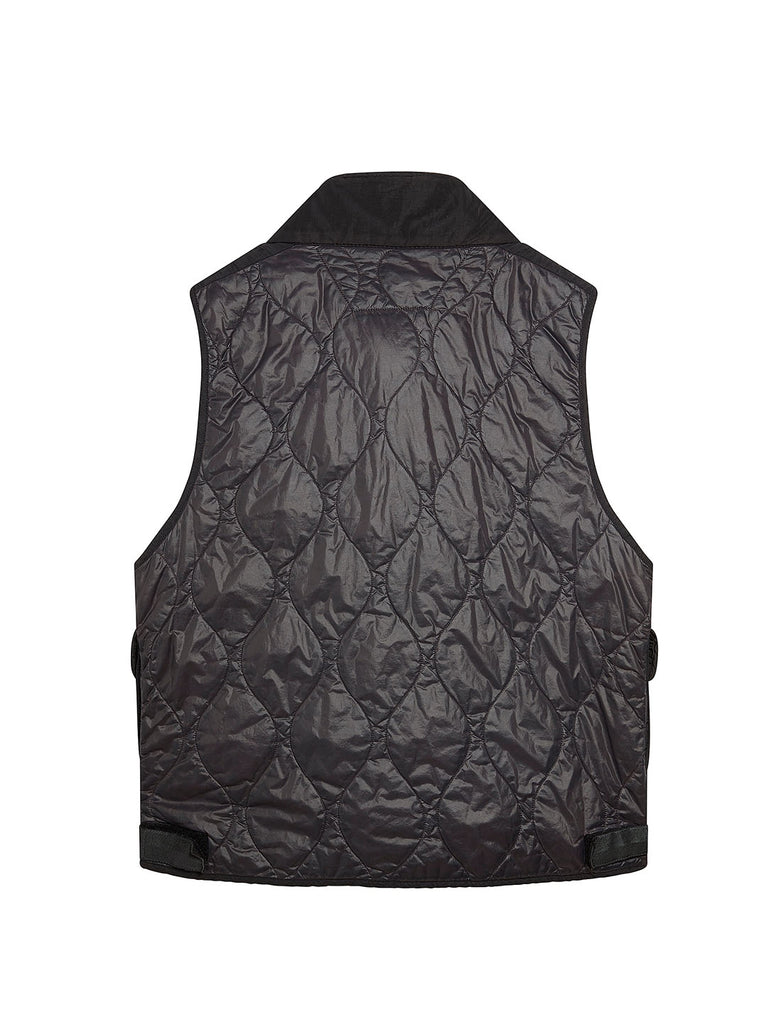 Migration Shading Utility Gilet in Black