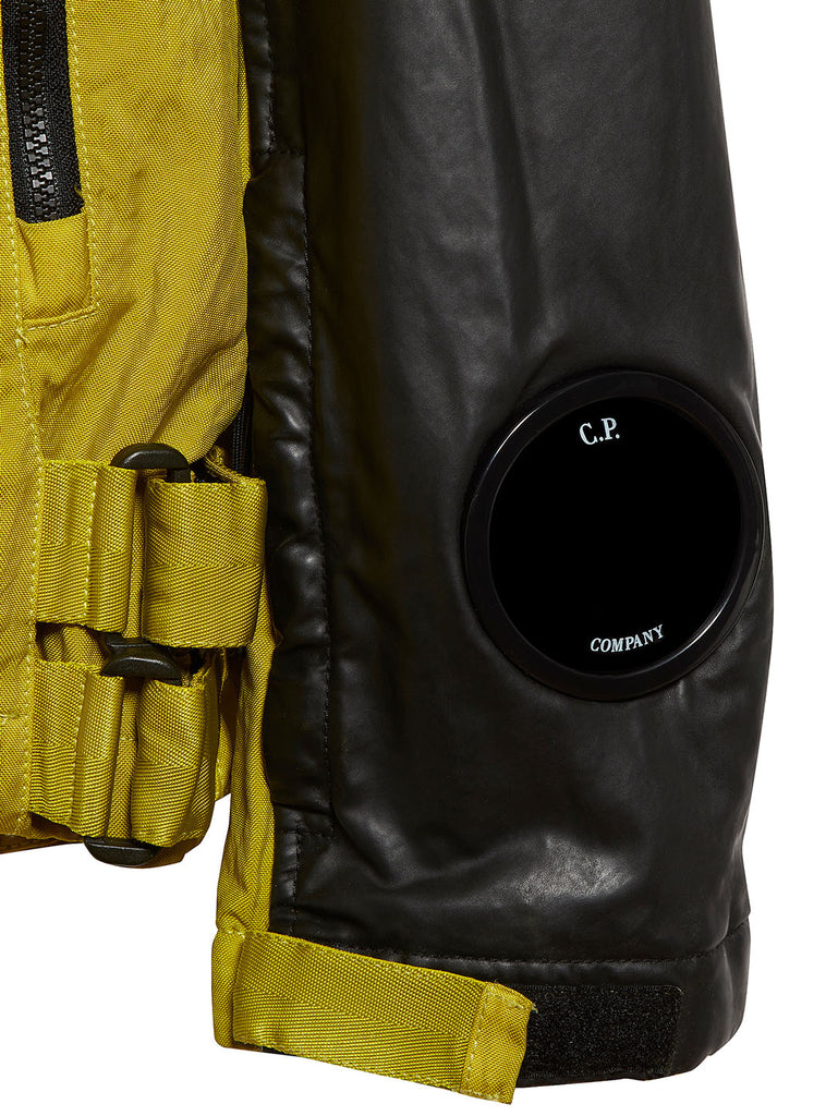 Quartz Contrast Full Zip Goggle Jacket in Sulphur Spring
