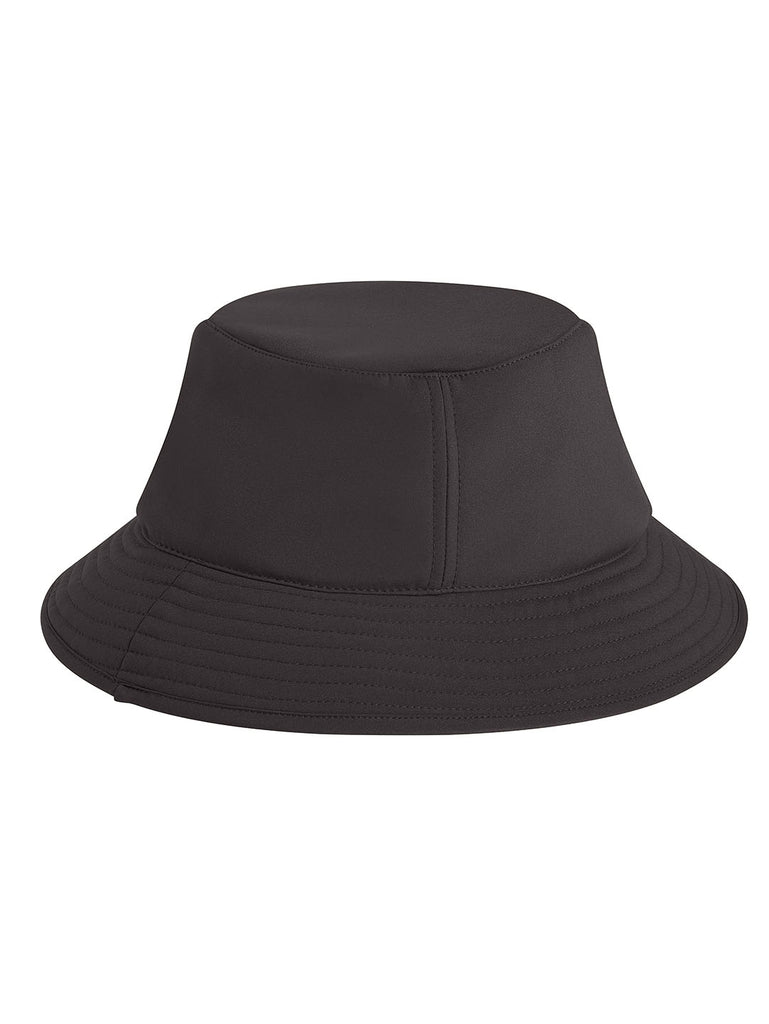 C.P. Shell Logo Badge Bucket Hat in Black
