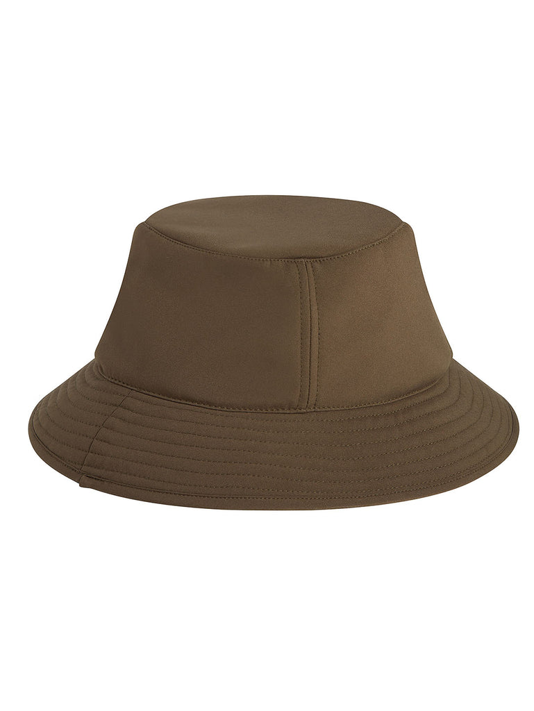 C.P. Shell Logo Badge Bucket Hat in Ivy Green