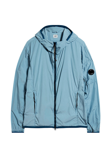 Hilite Hooded Lens Jacket in Ashley Blue