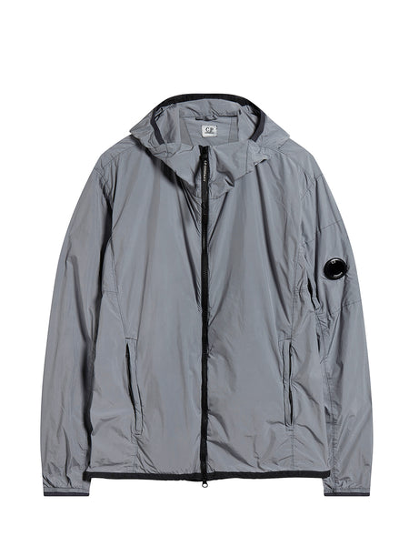 Hilite Hooded Lens Jacket in Steel Grey