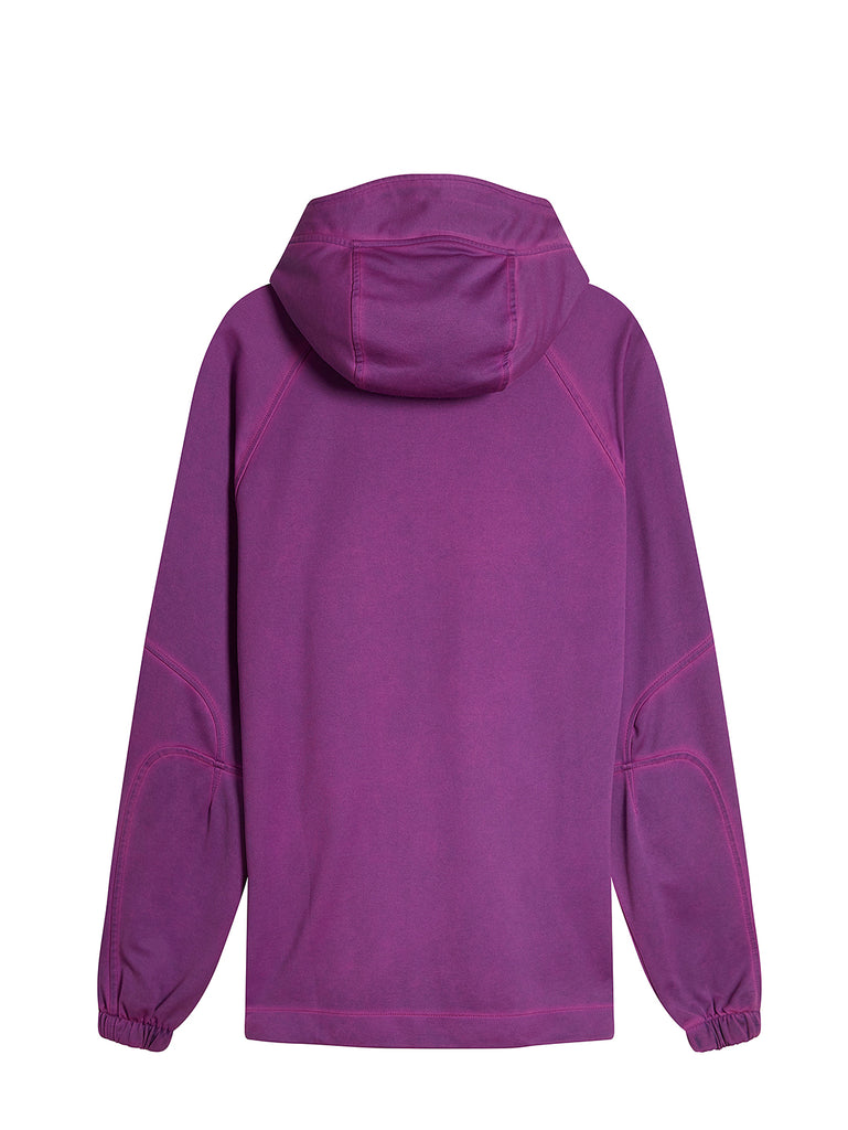 Re-Colour II Fluo Fleece Hooded Lens Sweat in Bluejay