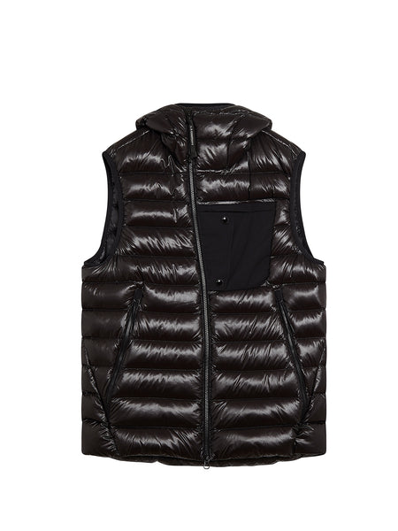 D.D. Shell Goggle Gilet in Black