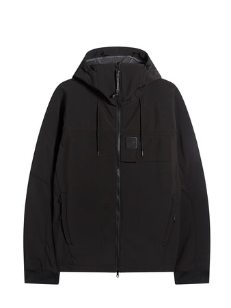 C.P. Shell Urban Protection Series Logo Jacket in Black