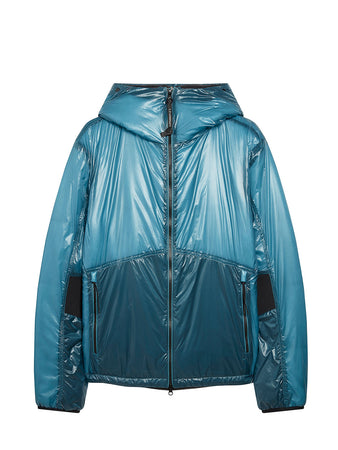 Outline Goggle Jacket in Bluejay