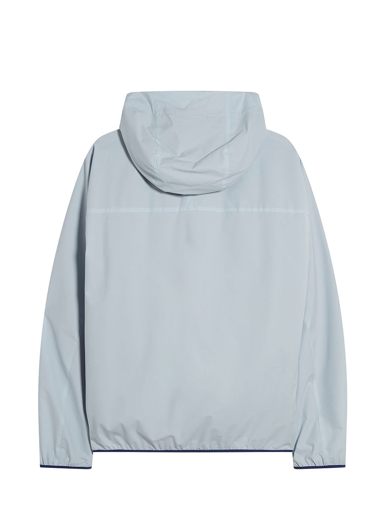 Pro-Tek Hooded Smock in Halogen Blue