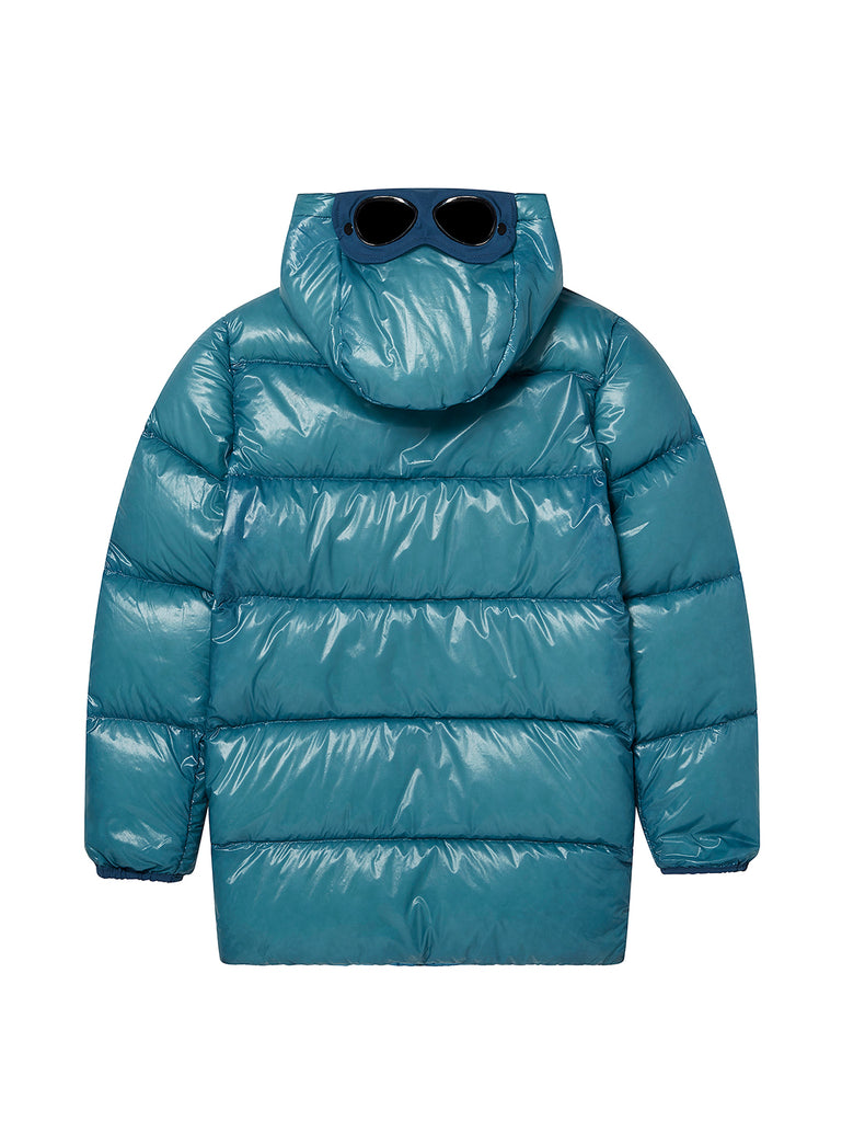 Undersixteen D.D. Shell Goggle Parka in Bluejay