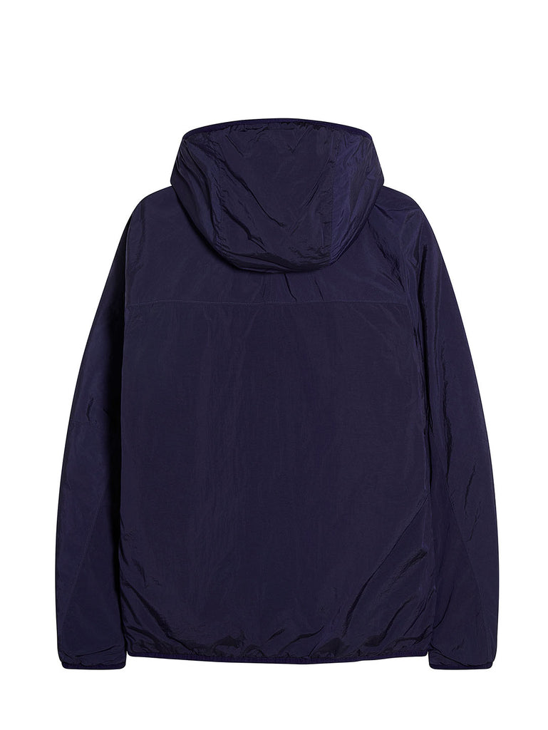CR-L Full Zip Hooded Lens Jacket in Blueprint