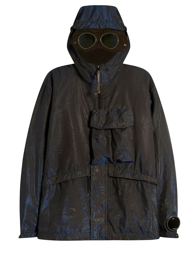 P.Ri.S.M. 2 in 1 Goggle Jacket with Removable Goose Down Liner in Blue