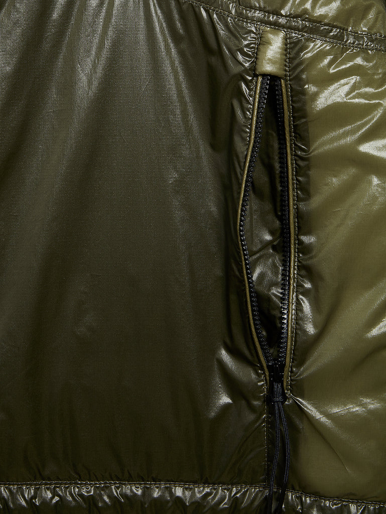 Outline Goggle Jacket in Dusty Olive