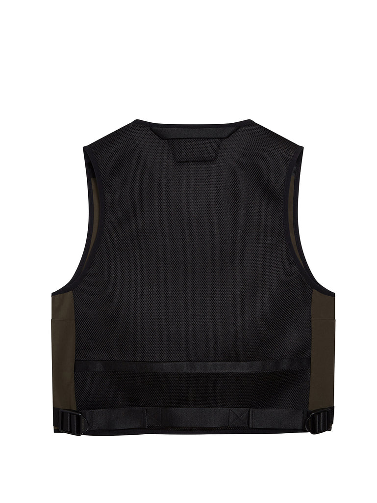 C.P. Shell Tactical Vest in Forest Night