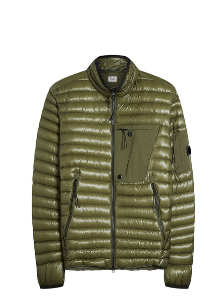 D.D. Shell Goggle Jacket in Dusty Olive