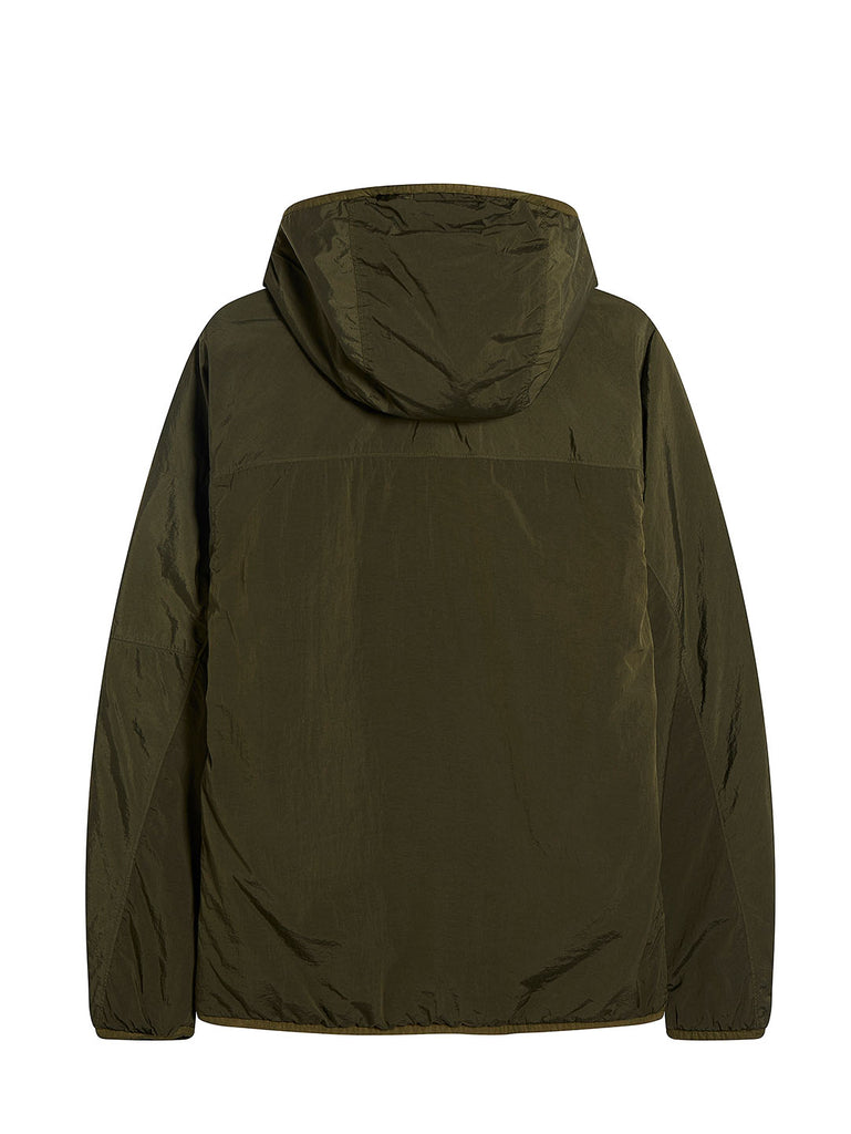 CR-L Full Zip Hooded Lens Jacket in Burnt Olive