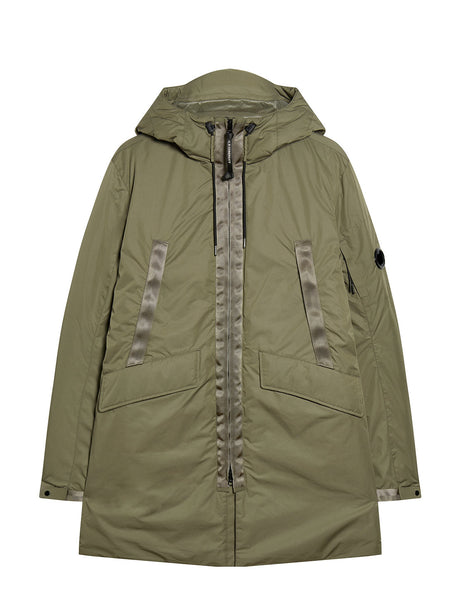 Micro-M Utility Parka in Dusty Olive