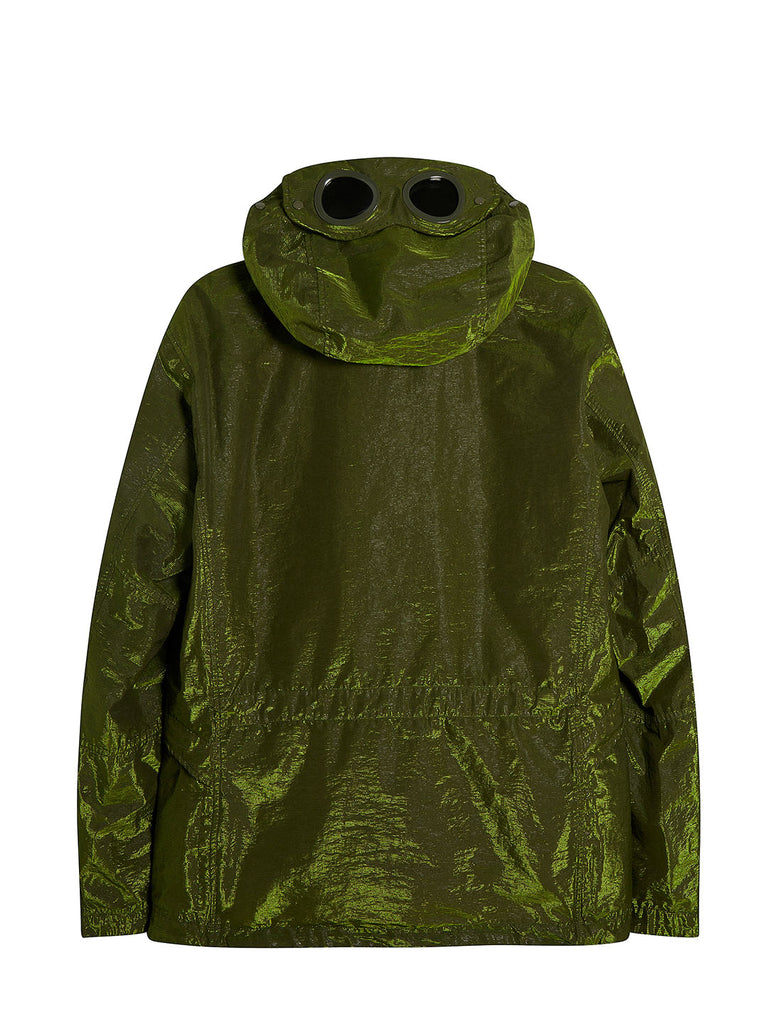 P.Ri.S.M. 2 in 1 Goggle Jacket with Removable Goose Down Liner in Green