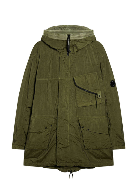 Quartz Parka in Dusty Olive